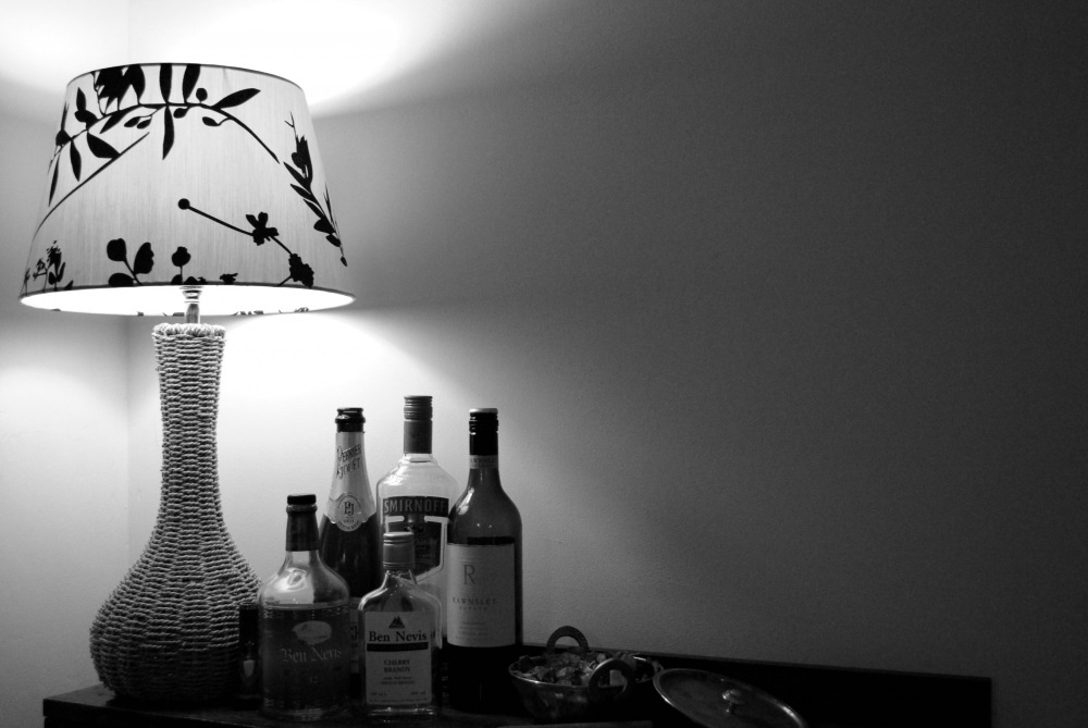 photoblog image Light the Alcohol